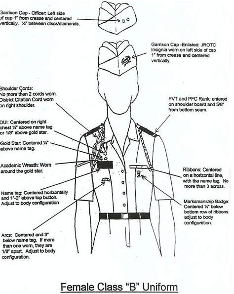 army asu class b uniform measurements the t shirt female asu uniform setup measurements macofel t shirt design