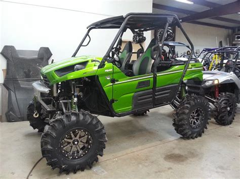 Kawasaki Teryx 4 Lift Kit by The Gallery For Gt Lifted Kawasaki Teryx 4