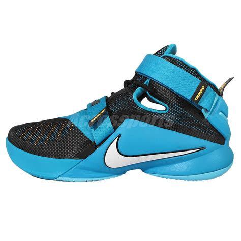 soldier basketball shoes nike lebron soldier ix ep 9 black blue lbj mens basketball