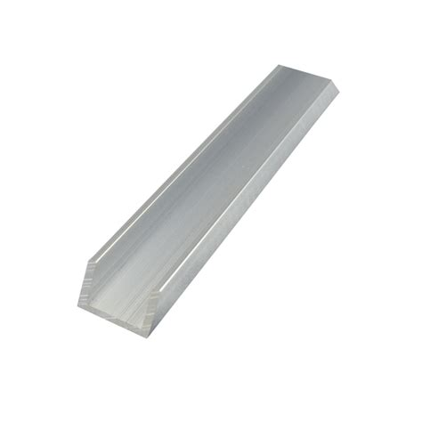 Steel Channel Sections by Metal Mate 16 X 12 X 1 6mm 1m Aluminium Section Channel