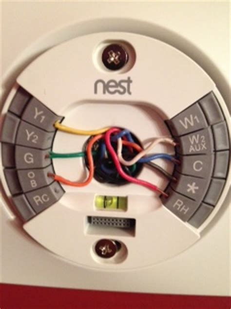 replacing a baystate240 with a nest thermostat i the