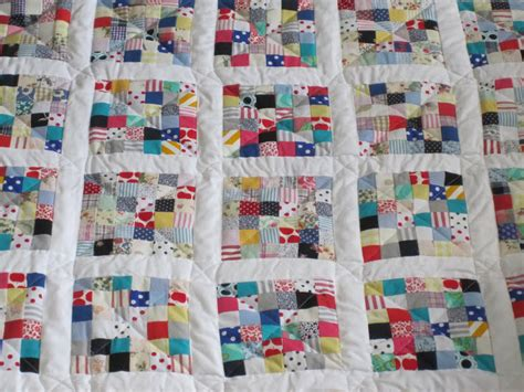 Scrap Patchwork - my postage st scrap fabric patchwork quilt so resourceful
