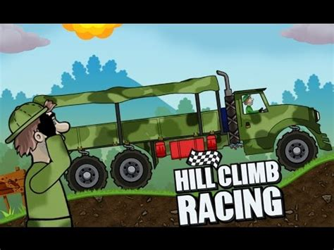 hill climb racing truck hill climb racing army truck create car