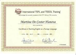 ittt certificate