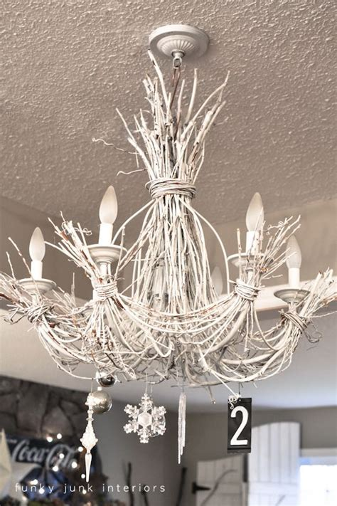 Funky Chandeliers Design Ideas A 2012 Funky Junk Home Tour Day 12 Twig Chandelier Funky Junk Interiors And Funky