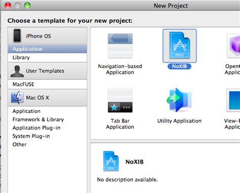 Creating An Xcode Project Template Codeproject Xcode Project Templates Explained