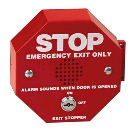 Alarm Emergency sti 6400 exit stopper door alarm