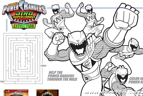 coloring pages of power rangers dino super charge power rangers coloring book games power ranger drawing
