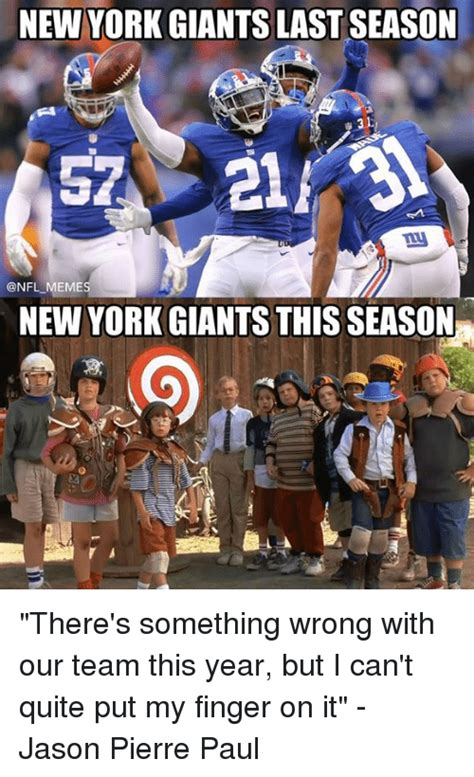 New York Giants Memes - 25 best memes about jason pierre paul jason pierre paul
