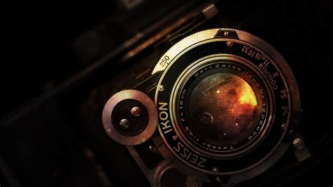vintage camera wallpaper tumblr vintage camera zeiss ikon lens hi tech hd wallpaper