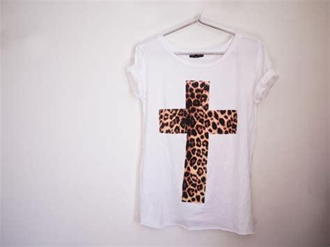 Tshirt Baju Kaos Armani clothes fashion leopard tshirt image 277719 on