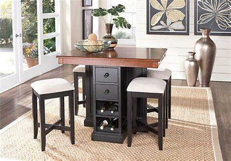 Black Dining Room Bar Best 25 Counter Height Dining Sets Ideas On