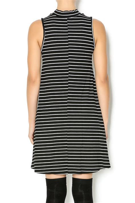 Dress Ola White Fit L Cc vintage striped shift dress from new jersey by
