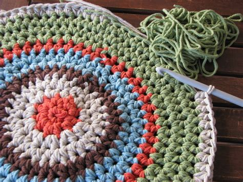 crochet rug how to crochet