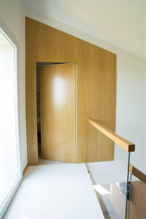 porta scomparsa porta a scomparsa in massello e listellare di rovere