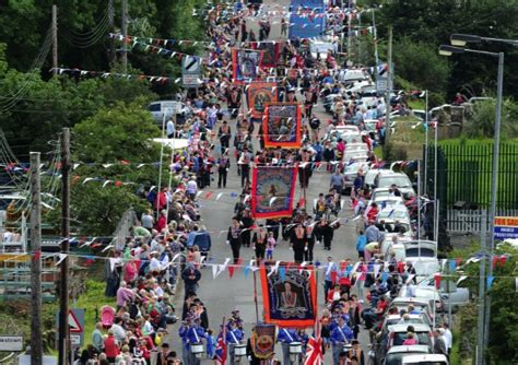 The Of The Twelfth traffic advice ahead of the twelfth in tyrone ulster herald