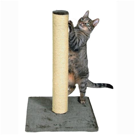 cover for cat scratching 62 cm cat scratching post in grey trixie parla post is