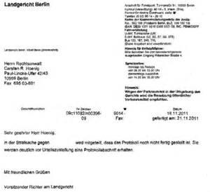 Zeugen Schreiben Muster Das Protokoll Im Sauseschritt Richter Kanzlei Hoenig Info Strafverteidiger In Kreuzberg