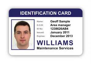 photo id cards for business image gallery identity card sle