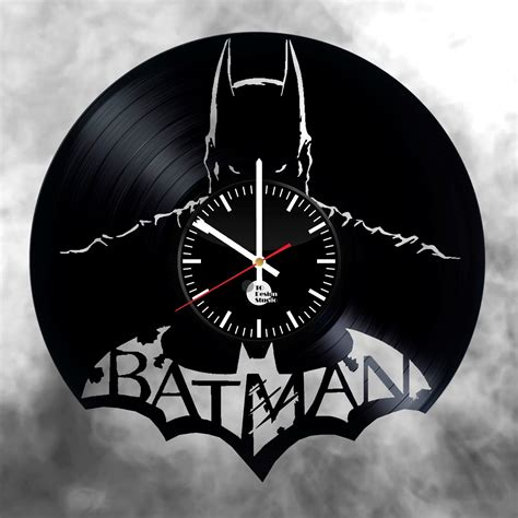 dc vinyl records batman vinyl record wall clock dc record wall