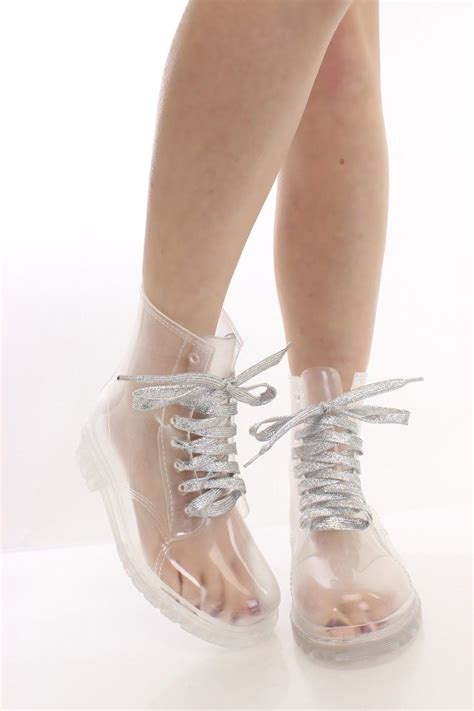 clear boots 17 best images about sockless clear boots on