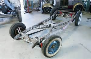 Ford Chassis Bringing A 1940 Ford Truck Chassis Back To