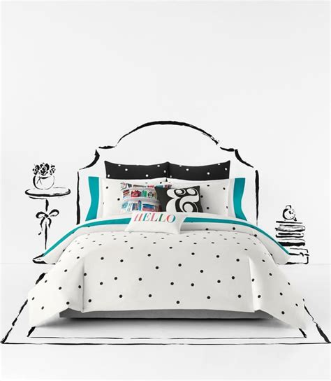 kate spade comforter twin xl kate spade new york deco dot comforter set new york