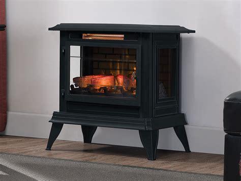 Duraflame 3d Black Infragen Electric Fireplace Stove W Stove Electric Fireplace