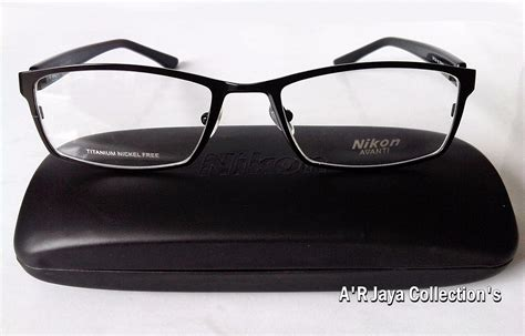 jual frame kacamata import new trendy nikon titanium