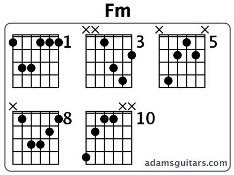 Fm Chord Guitar Easy