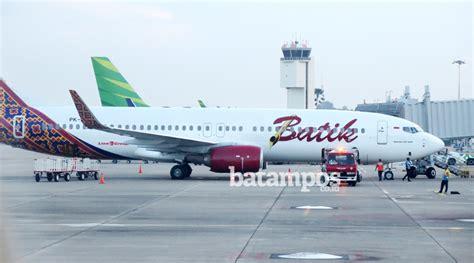 batik air balikpapan jakarta batik air terbangkan turis cina ke indonesia melalui