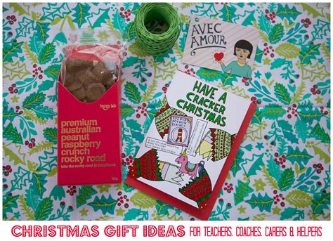 christmas gift ideas for teachers coaches friends