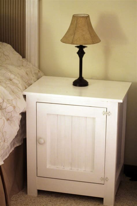 Nightstand Diy grounded diy nightstand