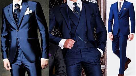 Navy blue coat pant designs 2018   Navy blue fashion