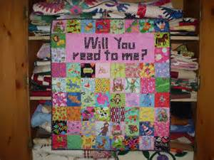 unruly quilting story time quilt