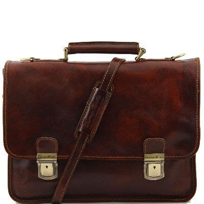 Handmade Leather Satchels Uk - satchel style handmade italian leather briefcase lbs106