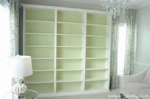 ikea bookshelves built in not so newlywed mcgees quot built in quot bookshelves