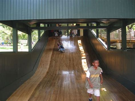 World's First Playground Slide, says the Daily Mail? Not