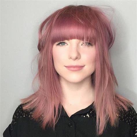 Bloude Dusty Pink dusty pink hair dusty hair metallic hair my