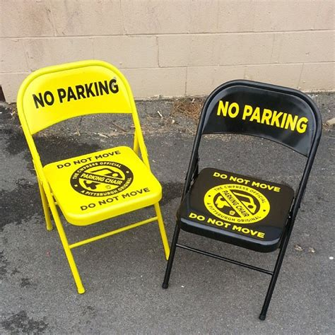 Parking Chair by Traditional Practice Of Using Parking Chairs Raises New