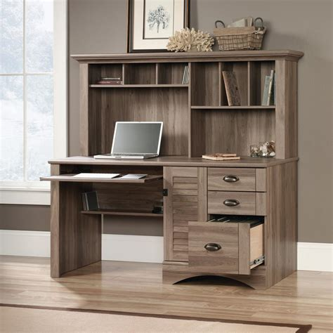 stylish home office desk with hutch office furniture
