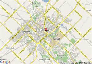 guelph canada map map of guelph on travelodge guelph