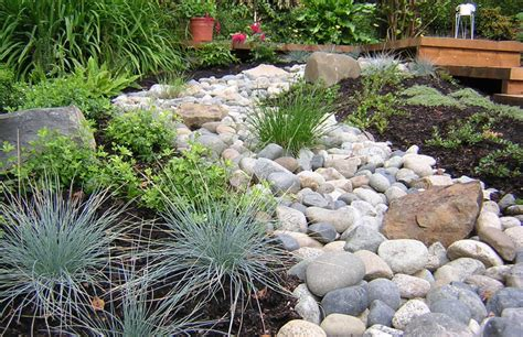 Landscape Rock Designs Pea Gravel Patio Landscaping Landscaping Gardening Ideas