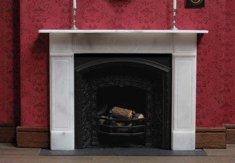 dollhouse miniature fireplace miniatures