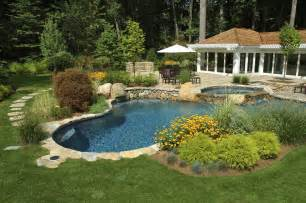 Landscape Architecture Backyard Pool And Landscape Design Newsonair Org