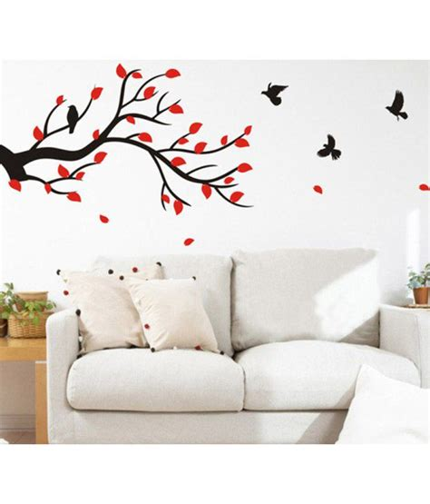 buy wall stickers stickerskart wall stickers wall decals slender branch with
