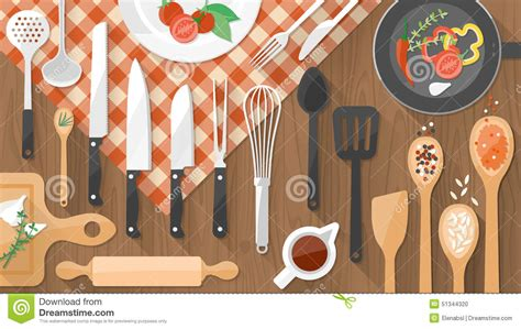 Indian Home Design Plans With Photos food and cooking banner stock vector image 51344320