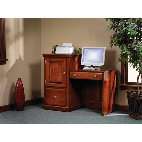 Closed Computer Desk Closed Computer Desk Bush Furniture Montrese Computer Desk With Closed Storage White Walmart
