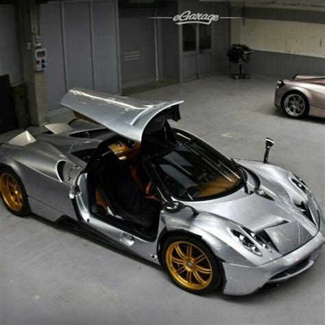 pagani zonda gold sweet paganai huayra silver body gold wheels and interior