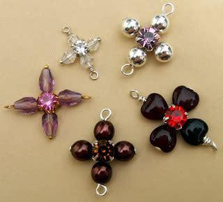 Handmade Beaded Jewelry Tutorials - cross handmade jewelry tutorials